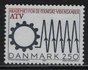 DENMARK, 839, MNH, 1987, EUROPA