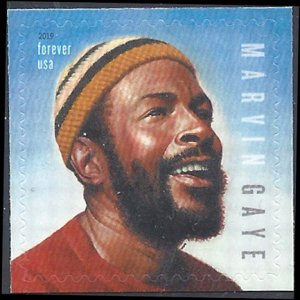 #5371 (55c Forever) Music Icons Marvin Gaye 2019 Mint NH