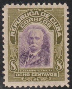 1910 Cuba Stamps Sc 243 Major General Calixto Garcia NEW