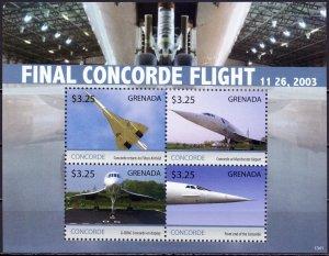 Grenada. 2013. Concorde Aviation. MNH.