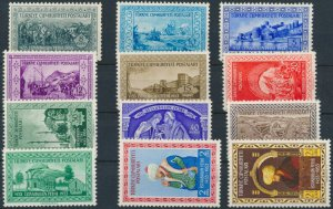 TURKEY/1953 - 500th YEAR OF THE CONQUEST OF CONSTANTINOPLE COMPLETE SET, MNH