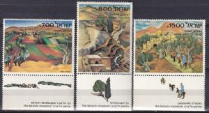 Israel #815-17  MNH With Tab