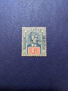 Sarawak 50 VF, CV $3.25