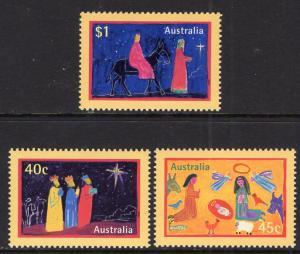 Australia 1713-1715 Christmas MNH VF