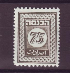 J16797 JLstamps israel revenue mnh bale 9