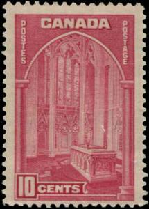 Canada SC# 241a Memorial Chamber of Parliament 10c MNH