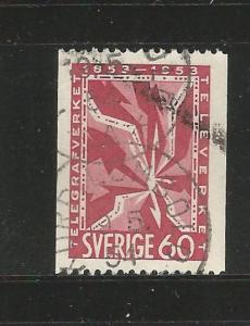 SWEDEN, 454, USED, TELEGRAPH
