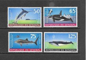 FISH -SENEGAL #C115-18  MNH