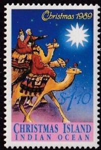 Christmas Island #245 Mint