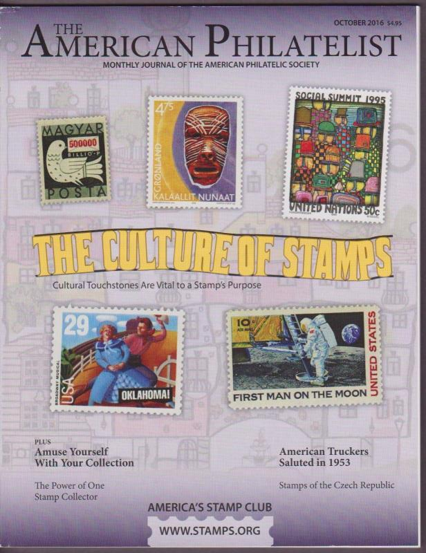 APS Magazine Oct 2016 , The Culture of Stamps - I Combine S/H