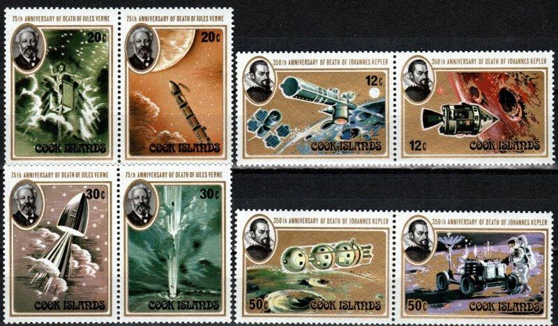 Cook Islands #556-9 MNH CV $5.10  (X4126)