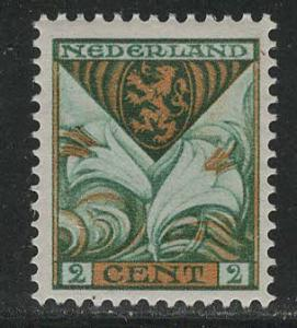 Netherlands Scott # B9, mint hr