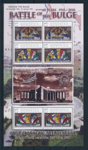[81175] Dominica 2009 World War II Ardennes offensive Altar Jewish Catholic MNH