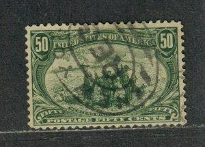 US Sc#291 Used/F-VF, Cv. $175