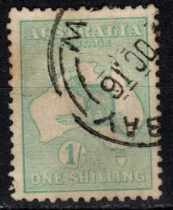Australia #51 F-VF Used CV $7.00 (X4929)