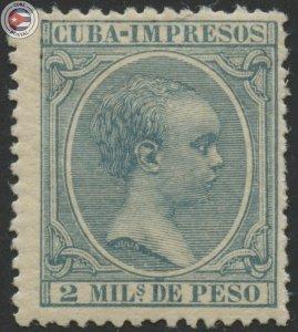 Cuba 1896 Scott P27 | MNH | CU18118