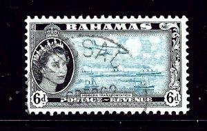 Bahamas 165 Used 1954 issue