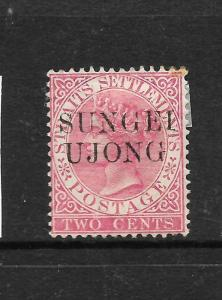 SUNGEI UJONG  1885-90   2c   QV     MH   SG 41