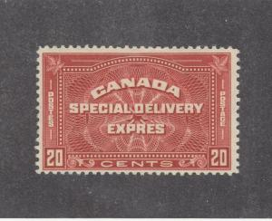 CANADA # E5 VF-MNH 20cts EXPRESS SPECIAL DELIVERY CAT VAL $200
