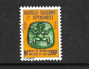 NEW CALEDONIA 1973 200f OFFICAL  FU SG O552