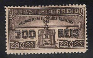 Brazil Scott 421 MH* 1936 Coin press stamp