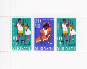 SURINAM/SURINAME 1967 MNH SC.B137/B139 Child Walfare