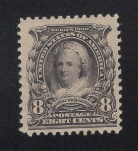 US Stamp Scott #306 Mint Previously Hinged SCV $45