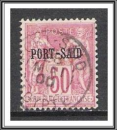 French Offices Abroad - Port Said #12 Used
