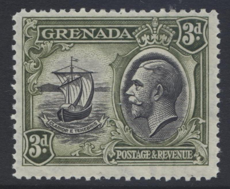 Grenada -Scott 119 - KGV Definitive Issue -1934 - MVLH - Single 3p - Stamp