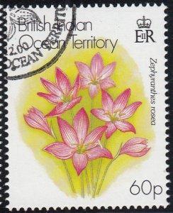 BIOT 2000 used Sc #228 60p Zephyranthes rosea Flowers
