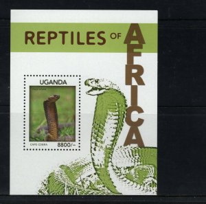 UGANDA -  2014 Reptiles of AFRICA   M2743
