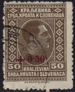 Yugoslavia - 1926 - Scott #B6 - used