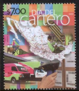 MEXICO 2841, Letter Carrier & Postal Employee Day. MINT, NH. F-VF.