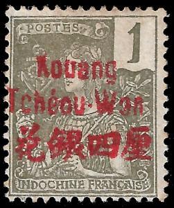 France-Kouang Tcheou 1906 YT 1 mh