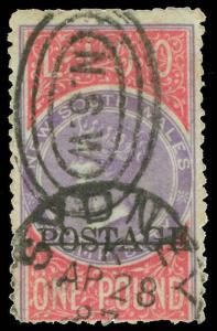 Australia / New South Wales Scott 74 Gibbons 240a Used Stamp