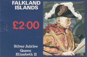 FALKLAND ISLANDS 254a-256a  MNH COMPLETE BOOKLET 2014 SCOTT CATALOG VALUE $14.40
