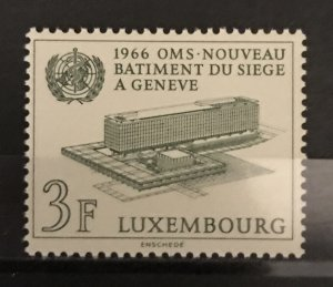Luxembourg 1966 #434, MNH, CV $.30