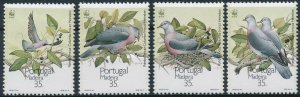 [173] Madeira Birds WWF good Set very fine MNH Stamps