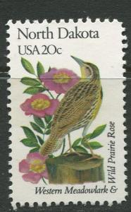 USA - Scott 1986 - State Birds & Flowers - 1982 - MNG - Single 20c Stamp