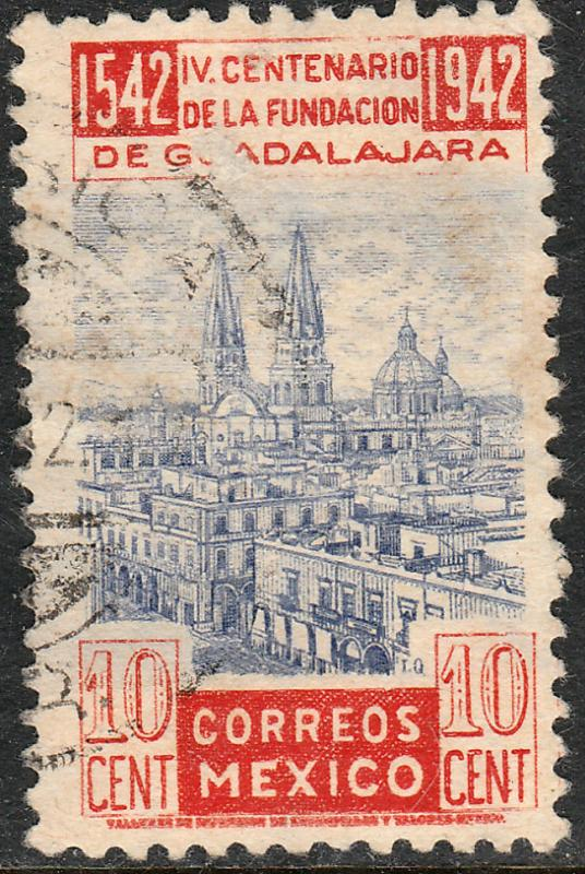 MEXICO 773, 10c 400th Anniv of Guadalajara. Used (720)