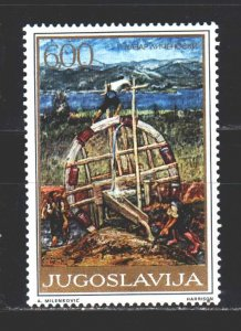 Yugoslavia. 1975. 1625 from the series. Painting, paintings. MNH.