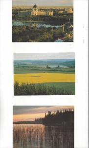 Canada .08 Postal Cards, 5 Dif. With Scenes From Saskatchewan Province Mint