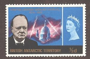 British Antarctic Territory 16 Mint VF H