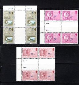 British Virgin Islands, 360-2,  Gutter Pairs, VF,  MNH, CV $5.75 ..... 6940112