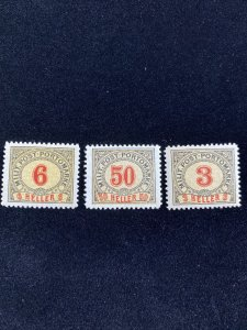 Early Bosnia Used Stamp Lot- with overprints #0117