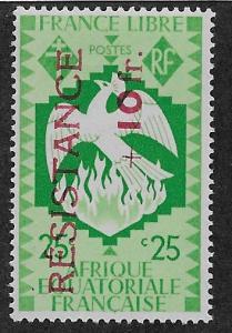 FRENCH EQUATORIAL AFRICA SC# B26  FVF/MOG  1944