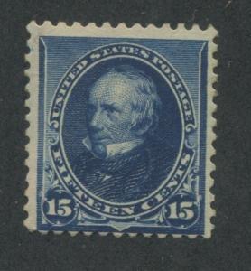1890 US Stamp #227 15c Mint Never Hinged Average Regummed Catalogue Value $180