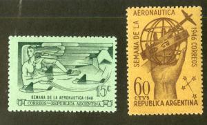 ARGENTINA C47-48 MH SCV $1.10 BIN $.50 AVIATION