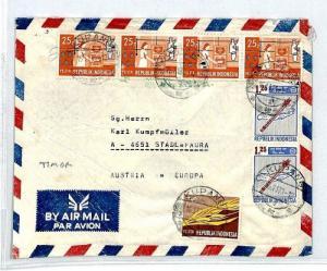 CM253 *INDONESIA* Missionary Air Mail MIVA Austria Cover