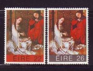 Ireland Sc 579-0 1983 Christmas stamps mint NH